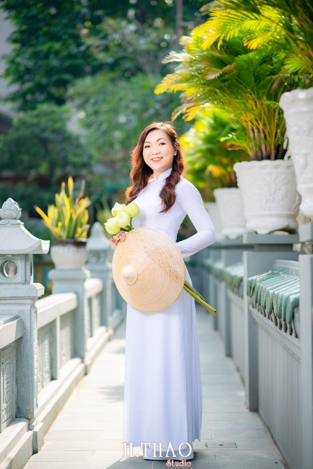 Ao dai 7 - Báo giá chụp ảnh áo dài trọn gói tại Tp.HCM - HThao Studio
