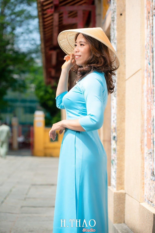 Ao dai lang ong ba chieu 18 - Album áo dài lăng ông bà chiểu chị Oanh - HThao Studio