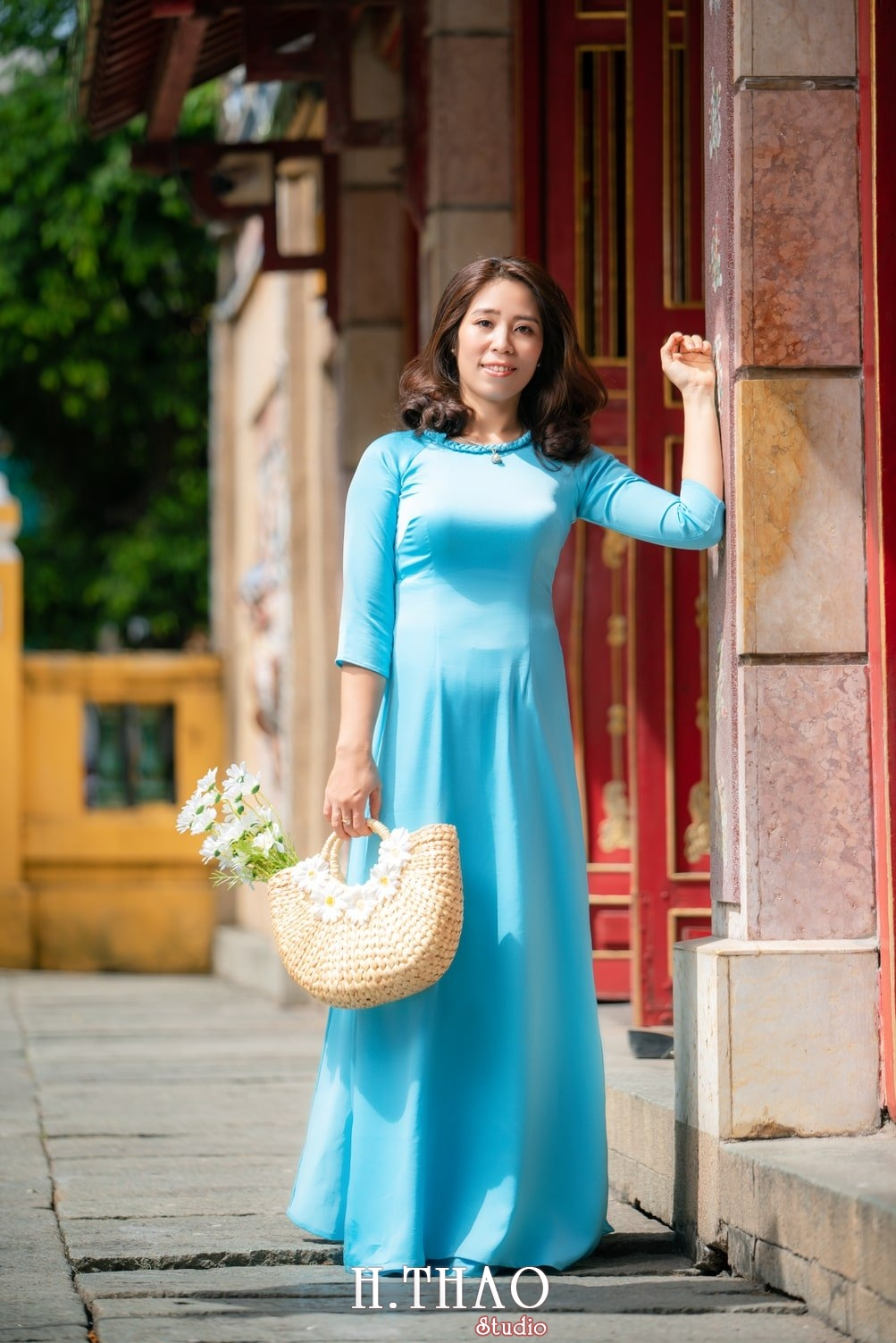 Ao dai lang ong ba chieu 19 - Album áo dài lăng ông bà chiểu chị Oanh - HThao Studio