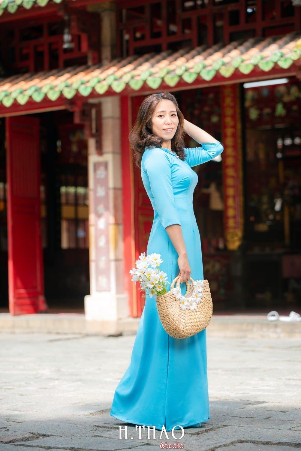 Ao dai lang ong ba chieu 20 - Album áo dài lăng ông bà chiểu chị Oanh - HThao Studio