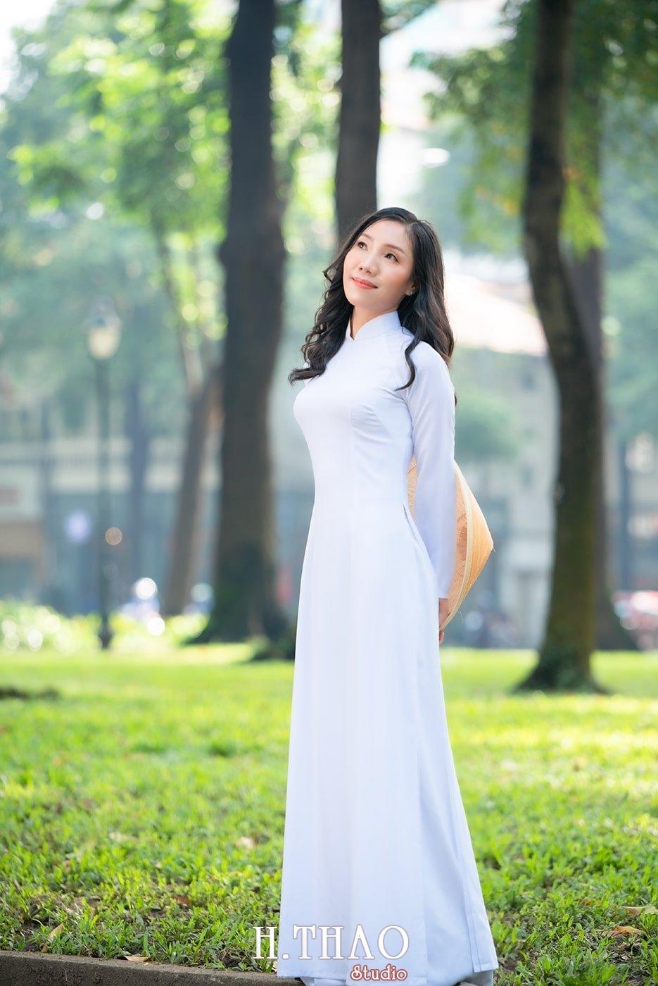 Ao dai nha tho duc ba 10 1 - Tổng hợp album ảnh áo dài chụp tại nhà thờ Đức Bà - HThao Studio