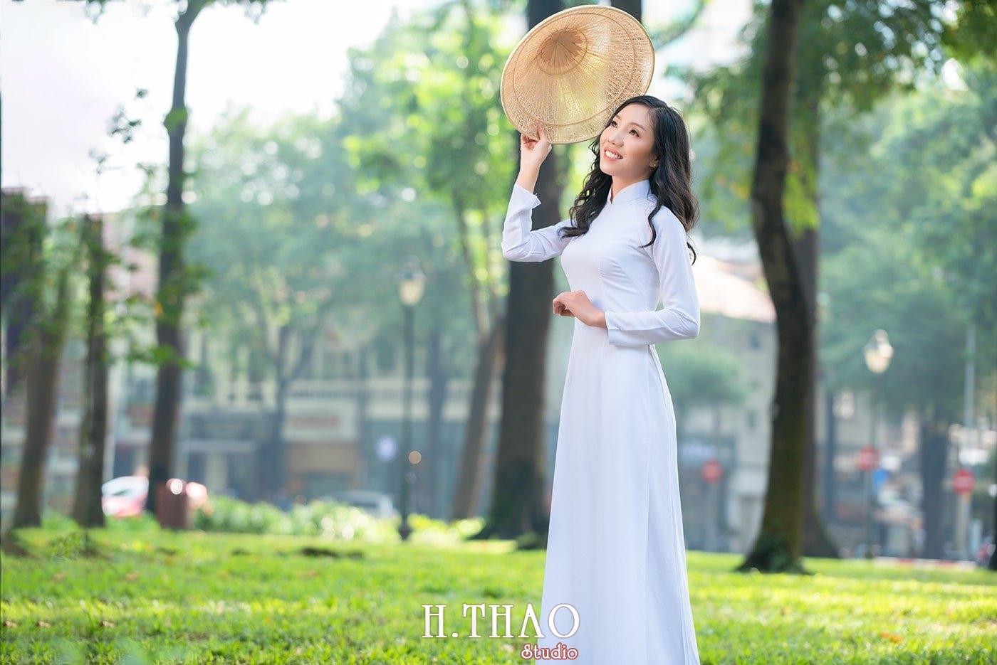 Ao dai nha tho duc ba 11 1 - Tổng hợp album ảnh áo dài chụp tại nhà thờ Đức Bà - HThao Studio