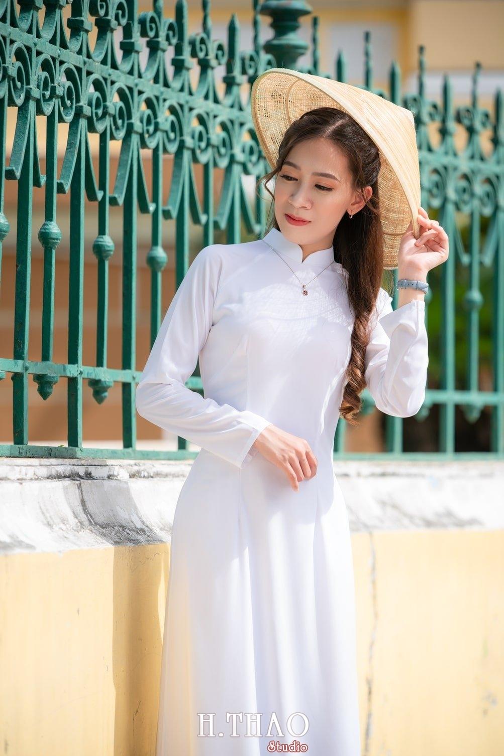 Ao dai nha tho duc ba 13 - Tổng hợp album ảnh áo dài chụp tại nhà thờ Đức Bà - HThao Studio