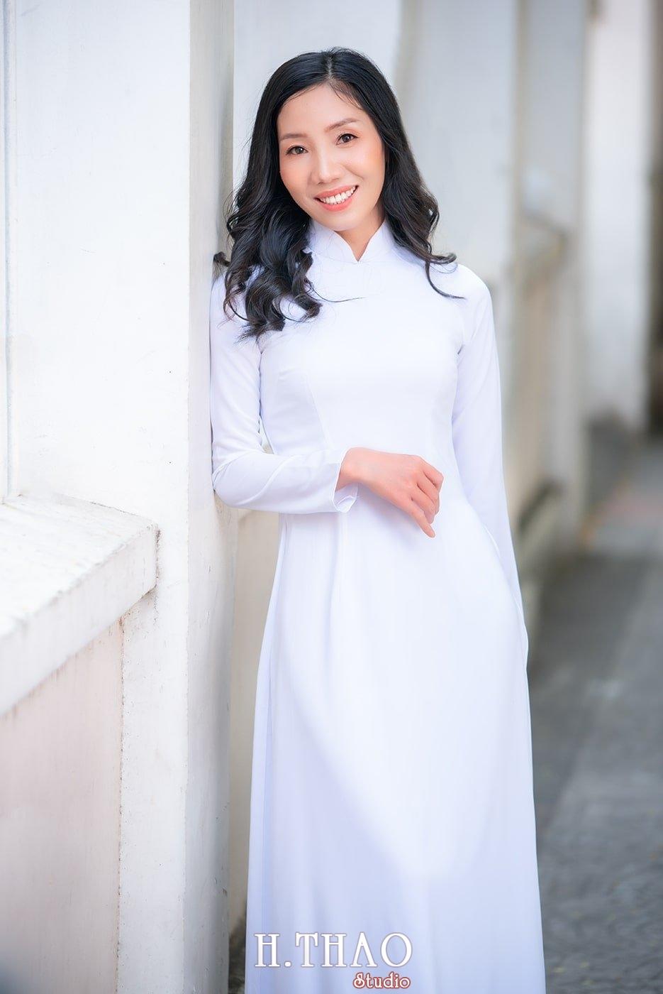 Ao dai nha tho duc ba 15 - Tổng hợp album ảnh áo dài chụp tại nhà thờ Đức Bà - HThao Studio