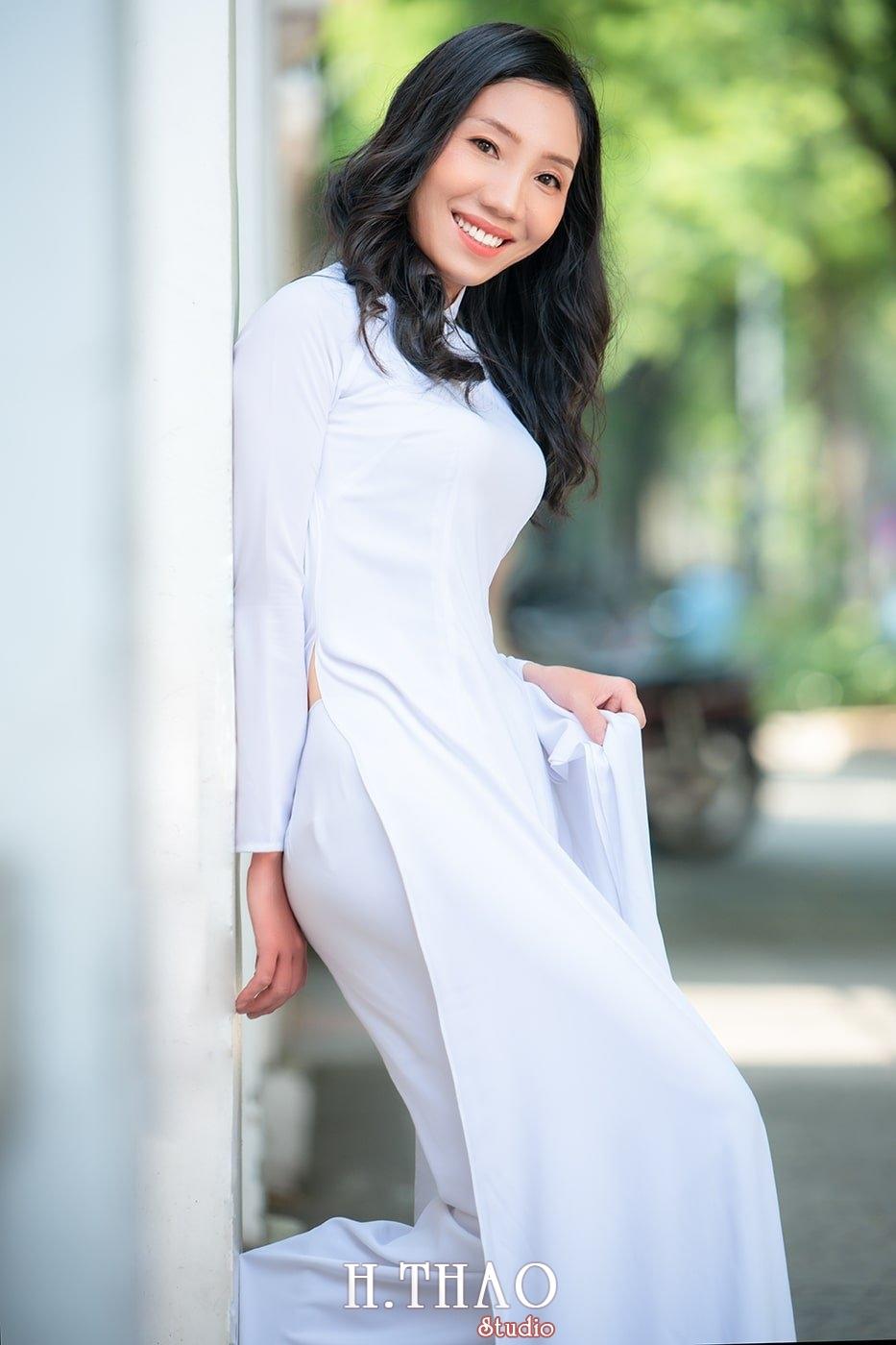 Ao dai nha tho duc ba 16 - Tổng hợp album ảnh áo dài chụp tại nhà thờ Đức Bà - HThao Studio