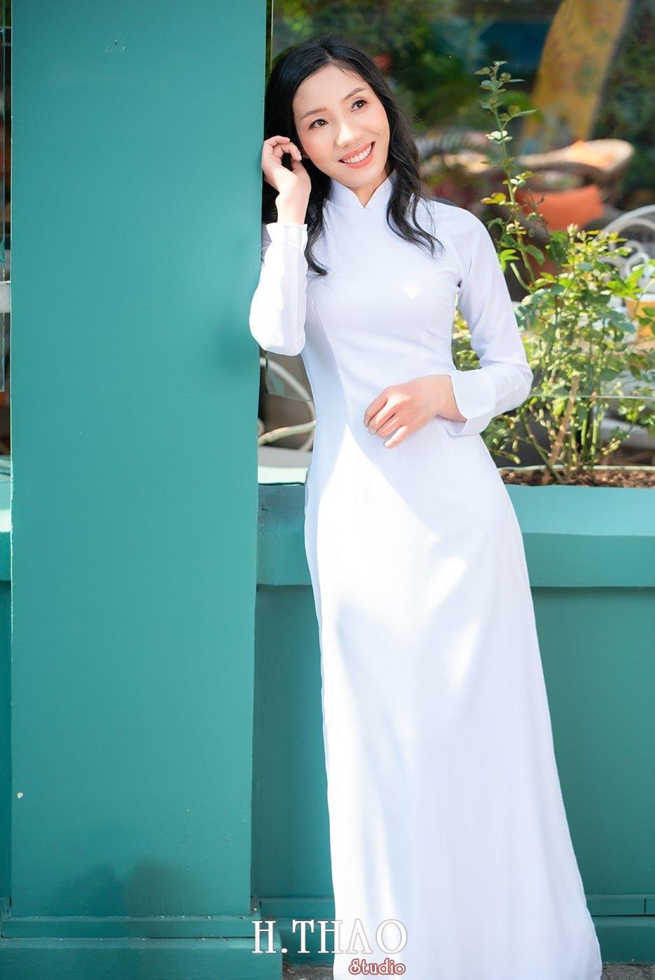 Ao dai nha tho duc ba 17 - Tổng hợp album ảnh áo dài chụp tại nhà thờ Đức Bà - HThao Studio