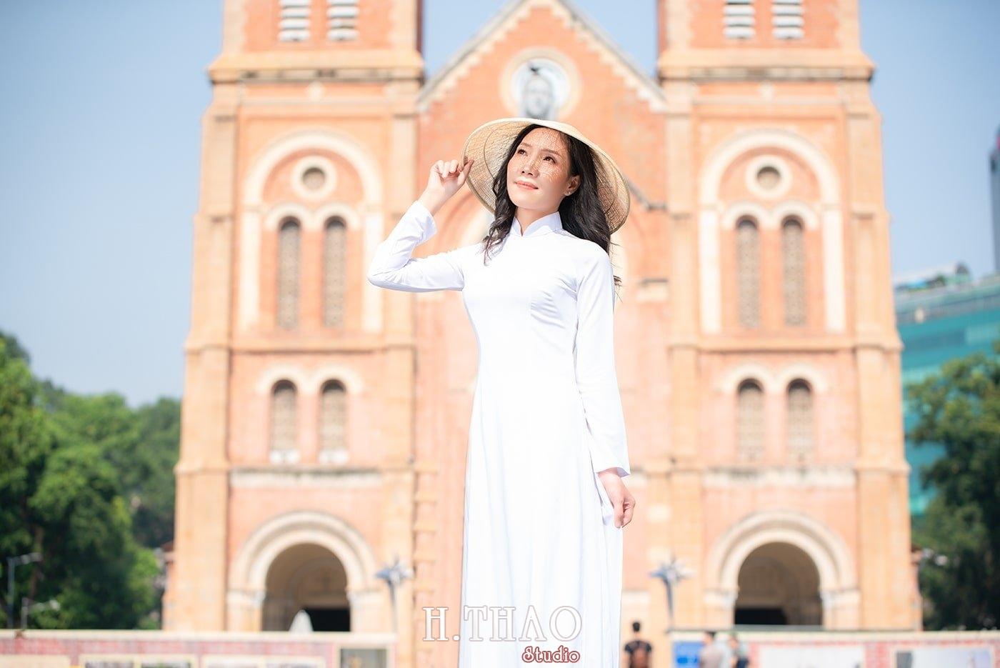 Ao dai nha tho duc ba 21 - Tổng hợp album ảnh áo dài chụp tại nhà thờ Đức Bà - HThao Studio