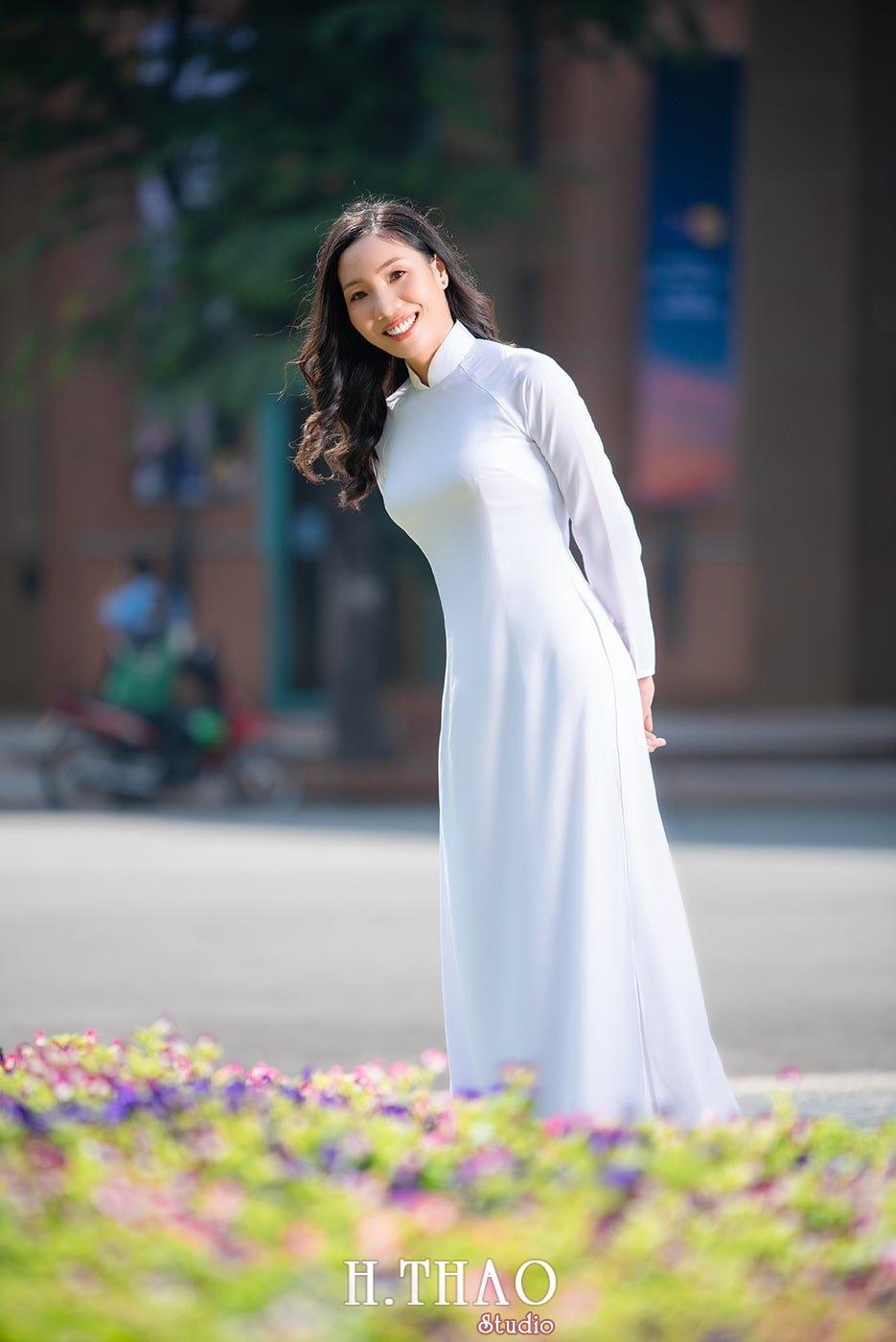 Ao dai nha tho duc ba 23 - Báo giá chụp ảnh áo dài trọn gói tại Tp.HCM - HThao Studio