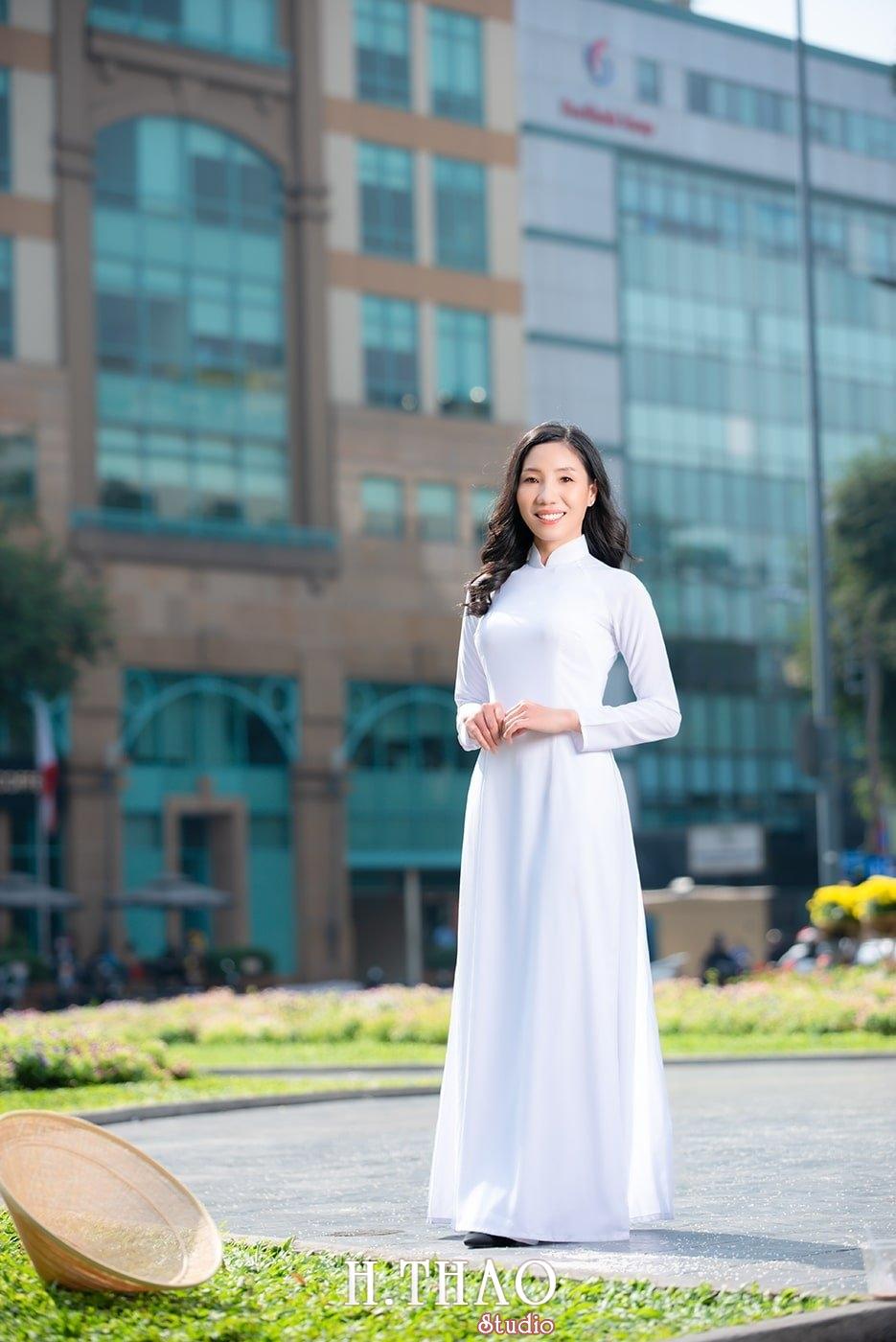 Ao dai nha tho duc ba 24 - Báo giá chụp ảnh áo dài trọn gói tại Tp.HCM - HThao Studio