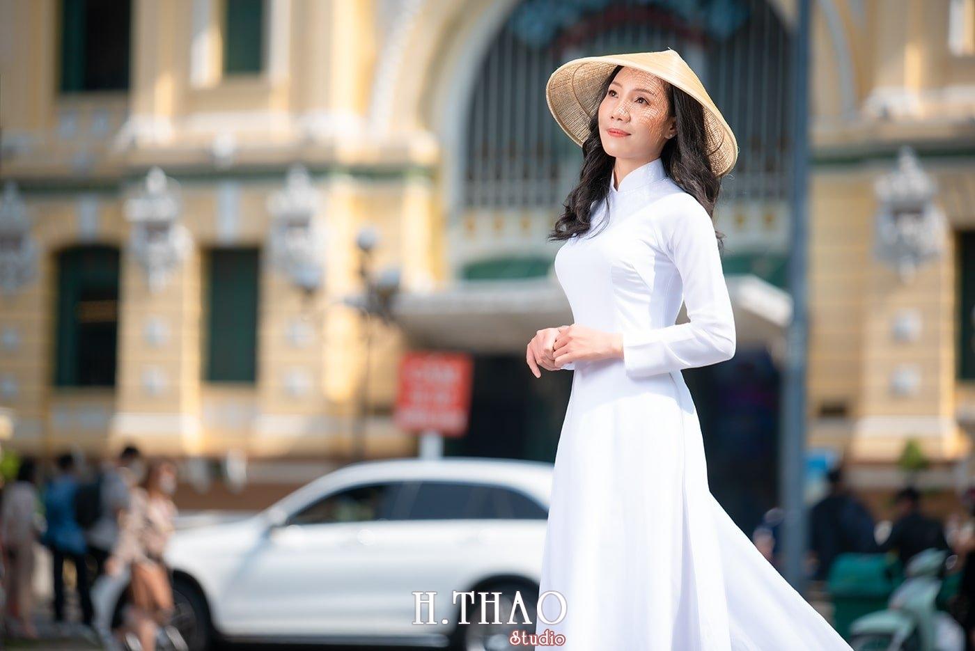 Ao dai nha tho duc ba 27 - Báo giá chụp ảnh áo dài trọn gói tại Tp.HCM - HThao Studio