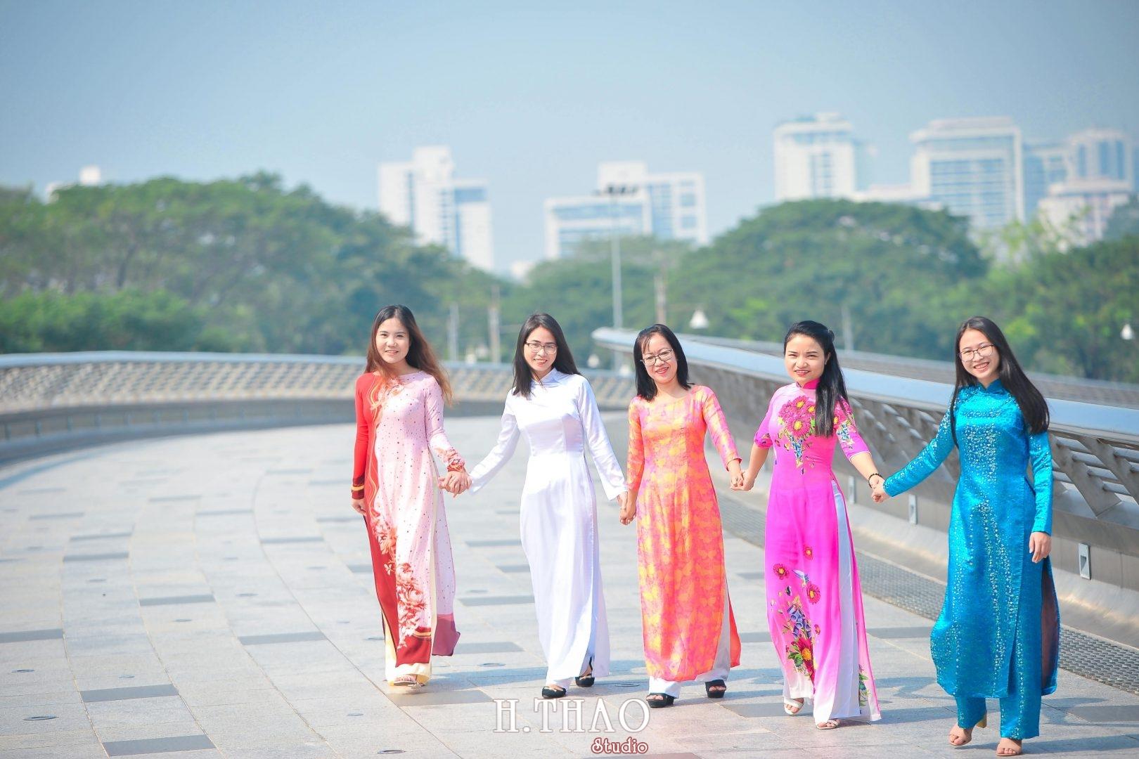 Ao dai nhom dep 15 - Báo giá chụp ảnh áo dài trọn gói tại Tp.HCM - HThao Studio