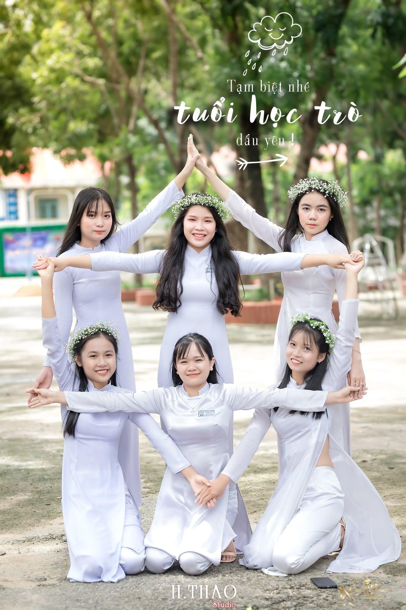 Ao dai nhom dep 17 - 30+ cách tạo dáng chụp ảnh áo dài nhóm đẹp miễn chê – HThao Studio