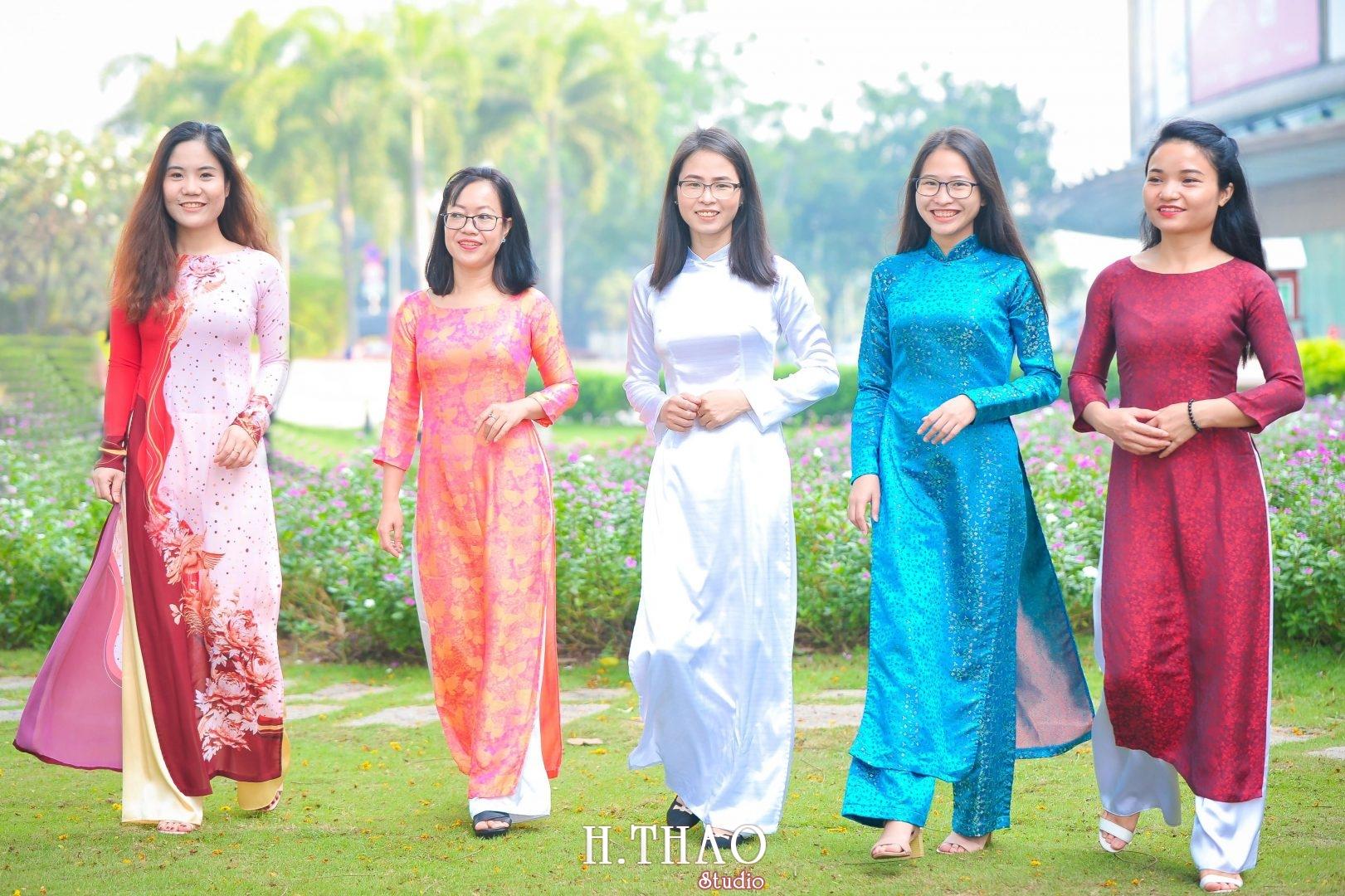 Ao dai nhom dep 19 - Báo giá chụp ảnh áo dài trọn gói tại Tp.HCM - HThao Studio