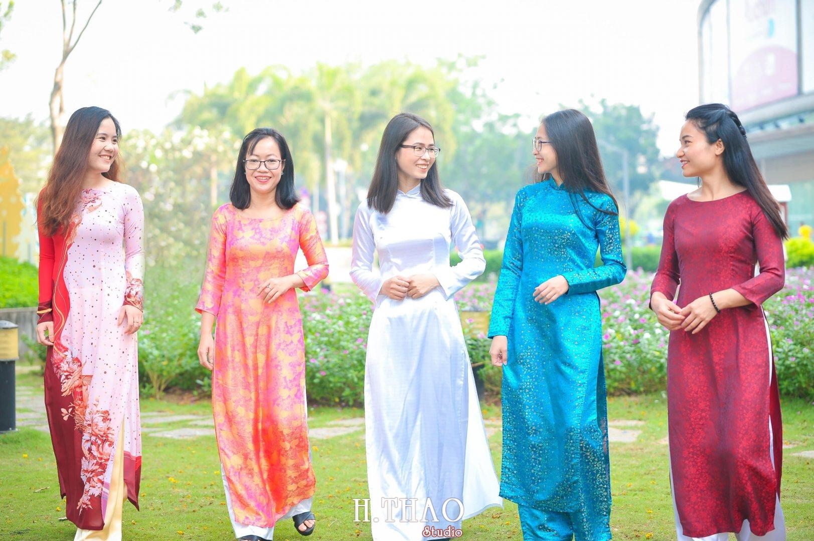 Ao dai nhom dep 20 - Báo giá chụp ảnh áo dài trọn gói tại Tp.HCM - HThao Studio
