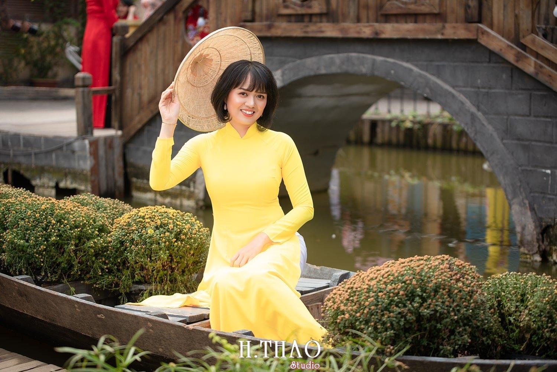 Ao dai tet 2021 1 - Album áo dài xuân chị Trang chụp tại Alibaba tuyệt đẹp - HThao Studio