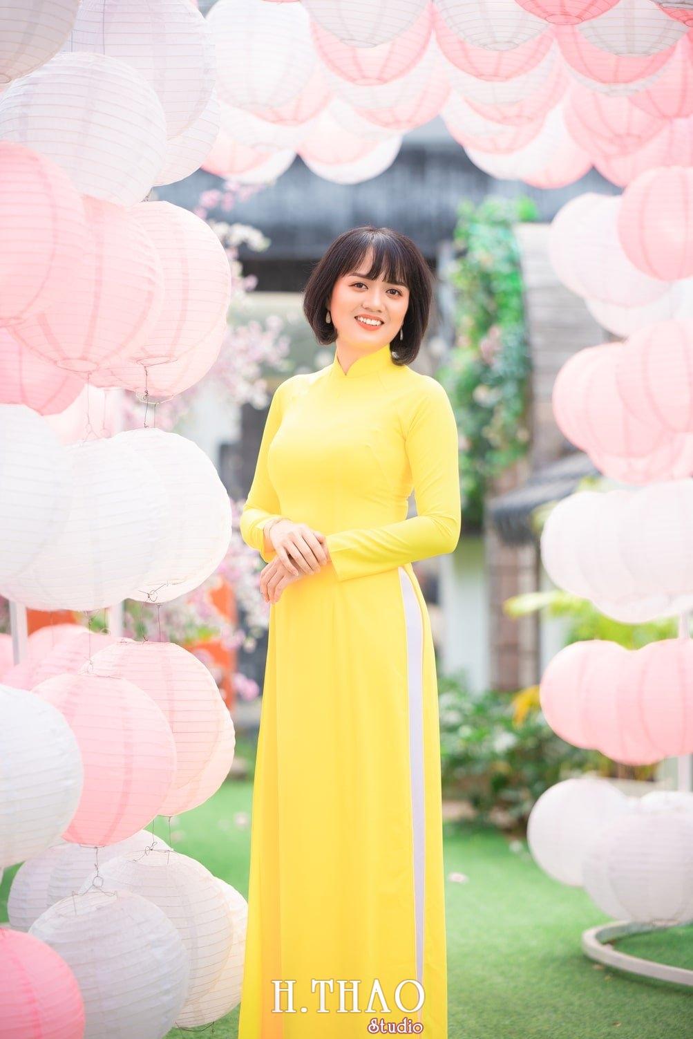 Ao dai tet 2021 2 - Album áo dài xuân chị Trang chụp tại Alibaba tuyệt đẹp - HThao Studio
