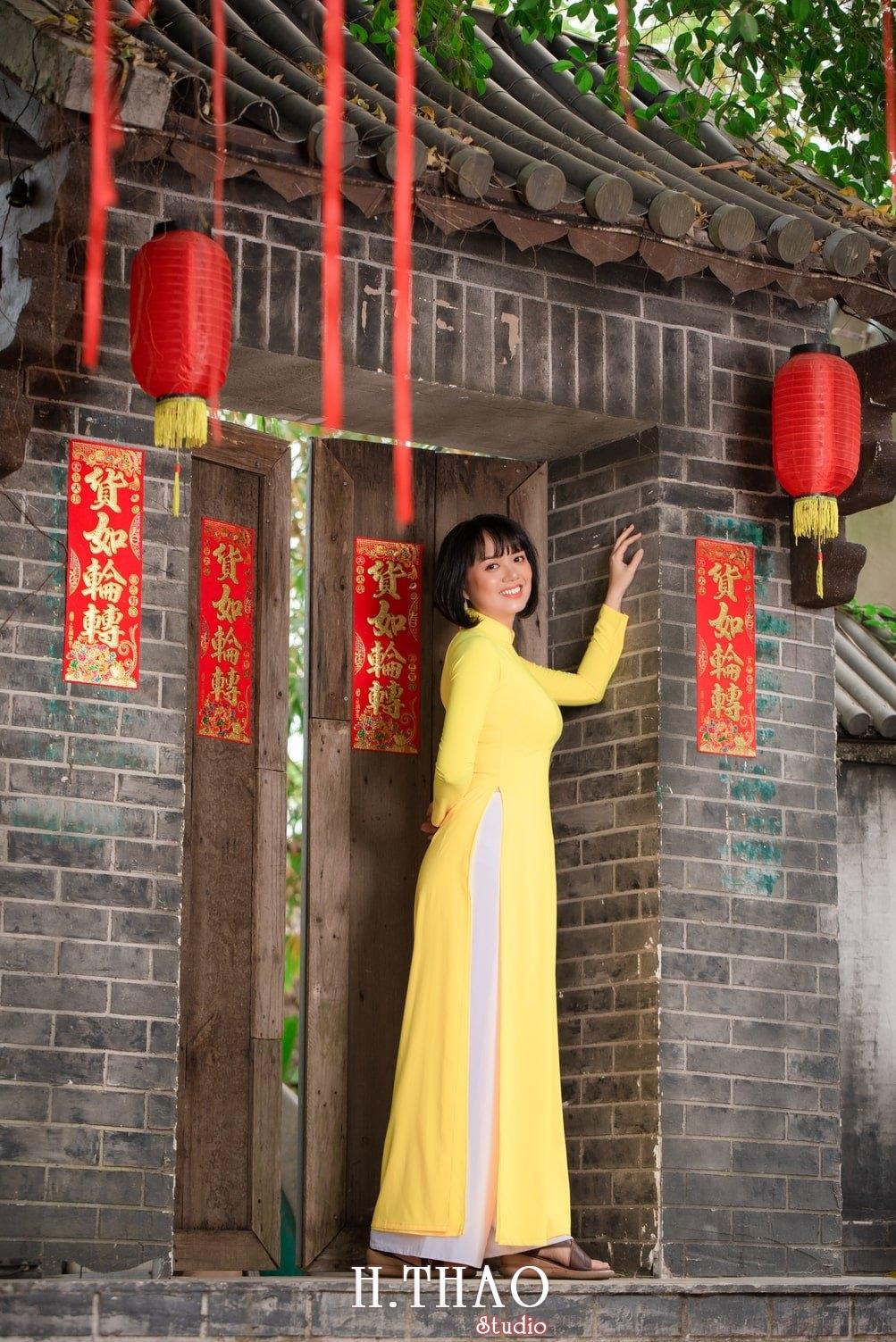 Ao dai tet 2021 3 - Album áo dài xuân chị Trang chụp tại Alibaba tuyệt đẹp - HThao Studio