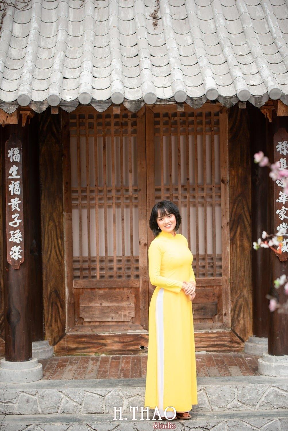 Ao dai tet 2021 5 - Album áo dài xuân chị Trang chụp tại Alibaba tuyệt đẹp - HThao Studio