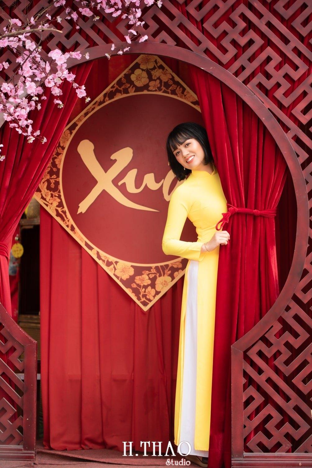 Ao dai tet 2021 6 - Báo giá chụp ảnh áo dài trọn gói tại Tp.HCM - HThao Studio