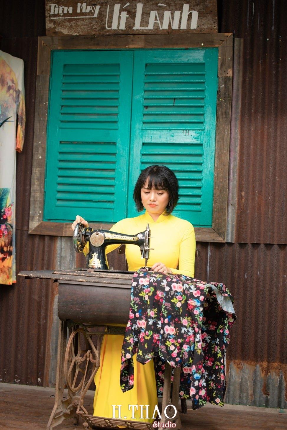 Ao dai tet 2021 8 - Album áo dài xuân chị Trang chụp tại Alibaba tuyệt đẹp - HThao Studio