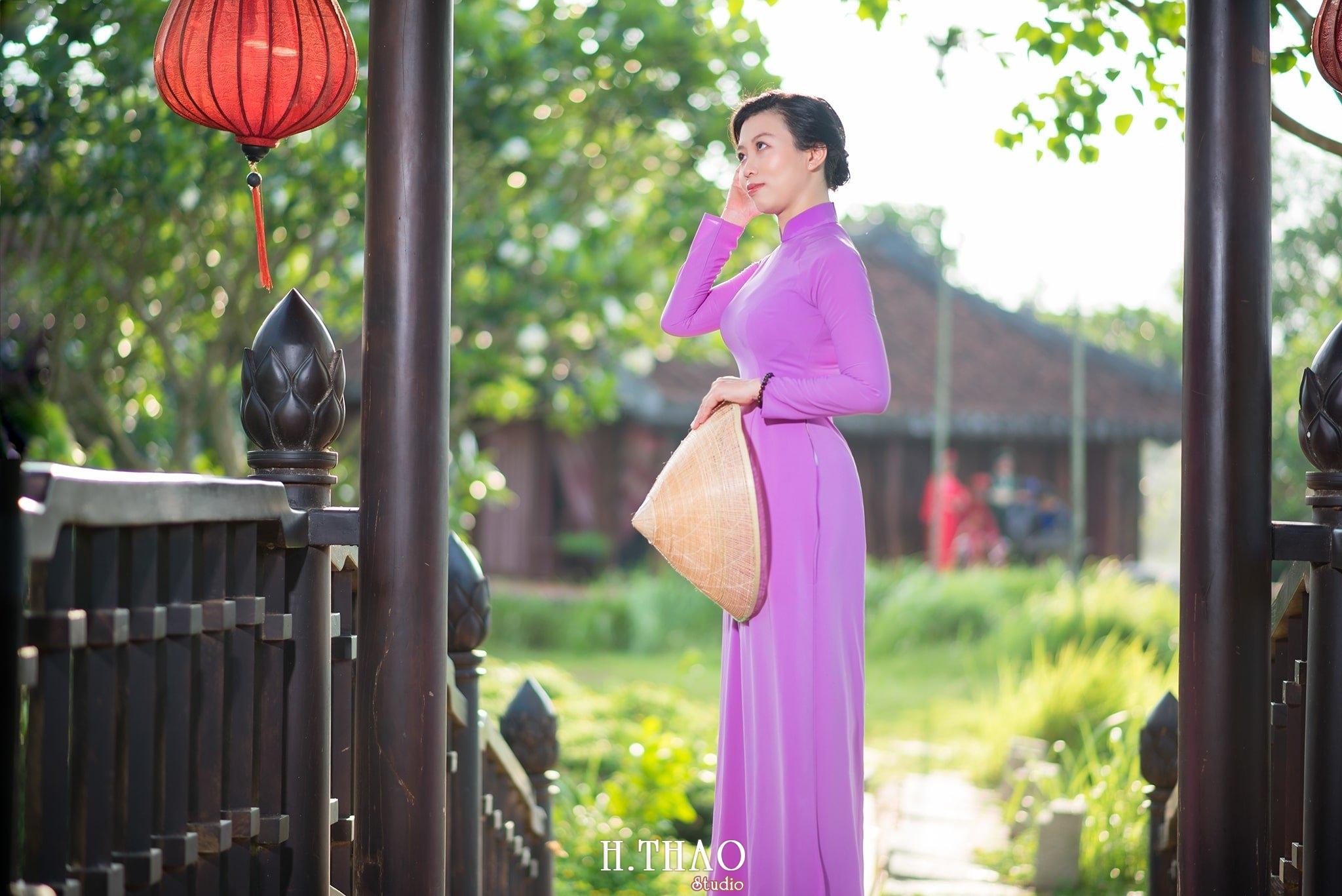 Ao dai tim 9 - Bảo tàng áo dài quận 9, địa điểm chụp hình HOT nhất Tp.HCM