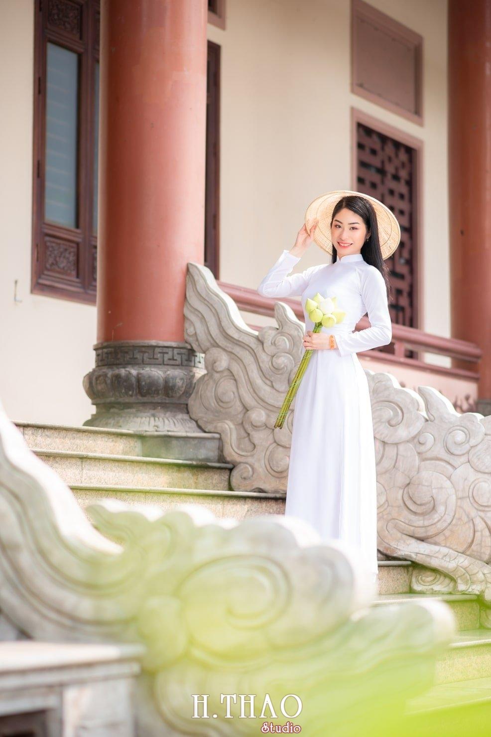 Ao dai trang 6 - Báo giá chụp ảnh áo dài trọn gói tại Tp.HCM - HThao Studio
