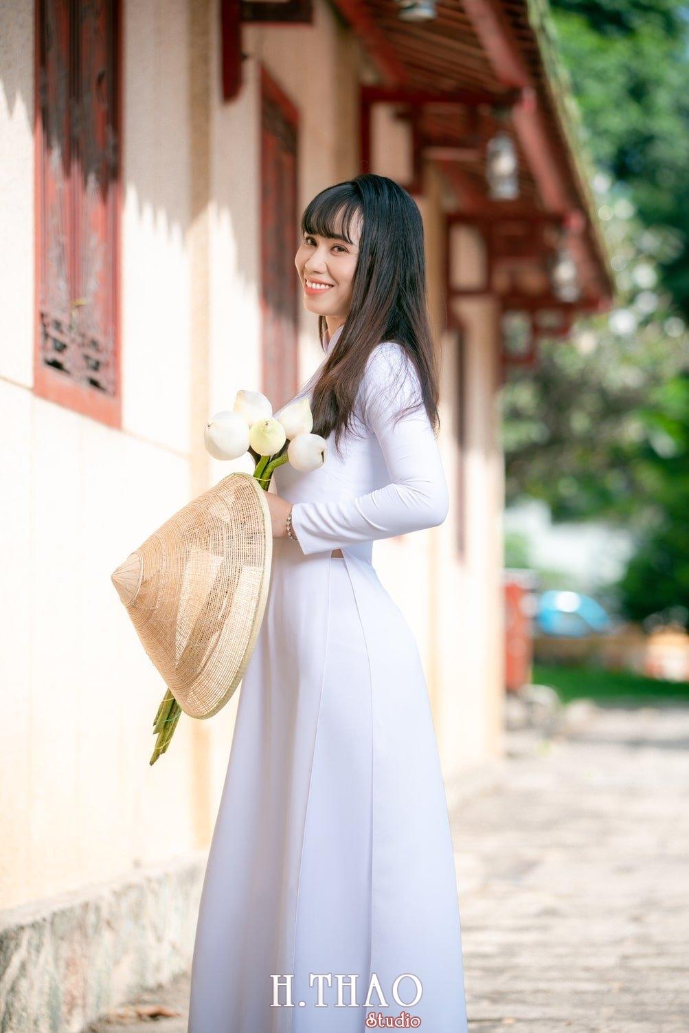 Ao dai viet nam 1 - Album áo dài tím, áo dài trắng thướt tha trong gió - HThao Studio