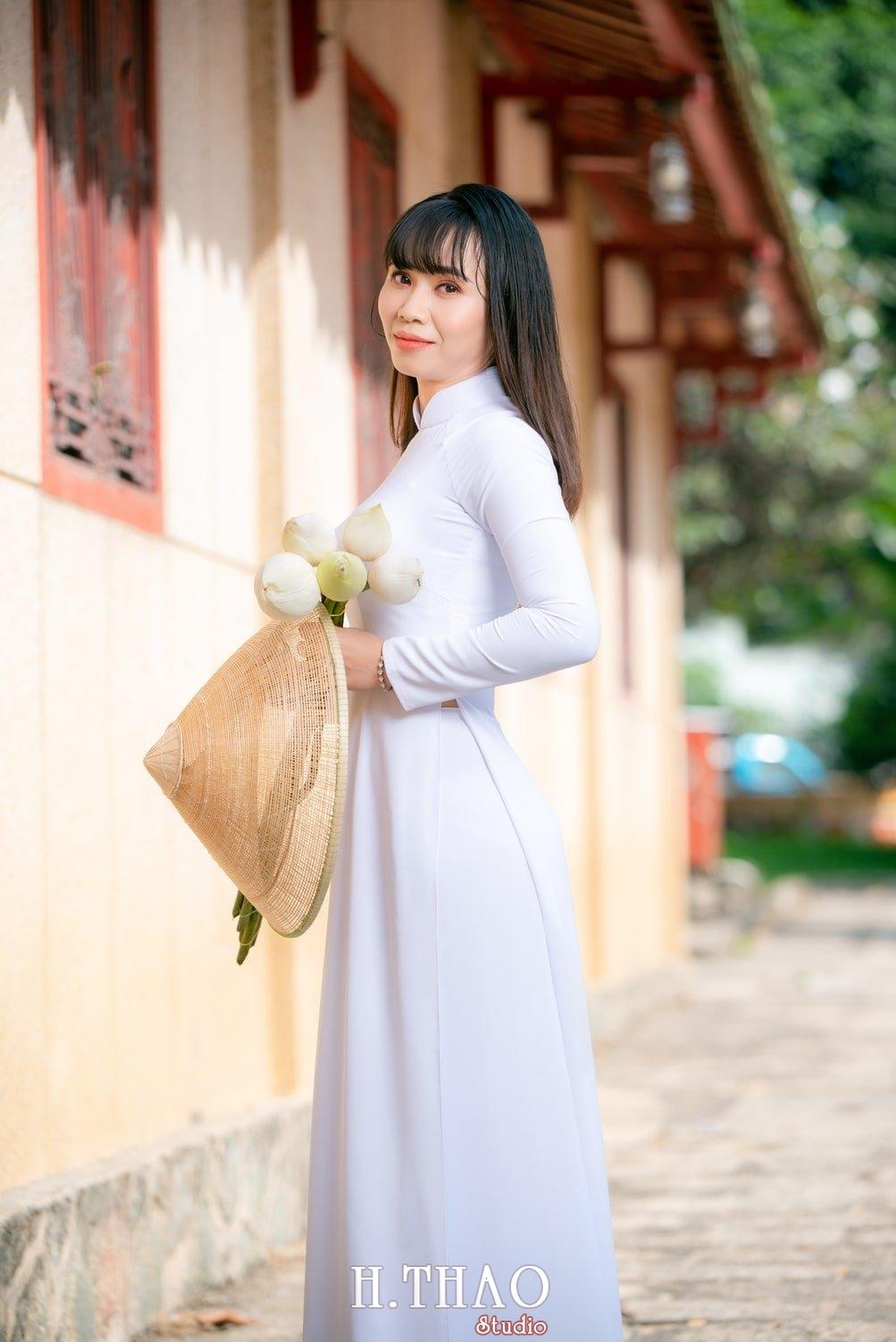 Ao dai viet nam 2 - Album áo dài tím, áo dài trắng thướt tha trong gió - HThao Studio