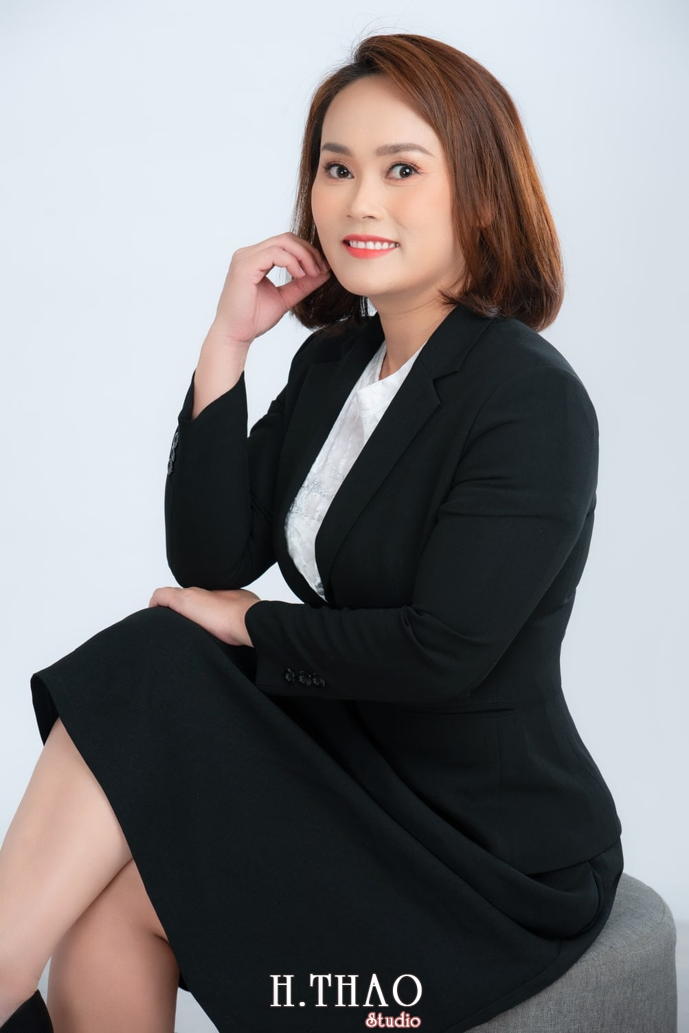 Chi Kim 8 - Album ảnh doanh nhân nữ: chị Kim đẹp nhẹ nhàng - HThao Studio