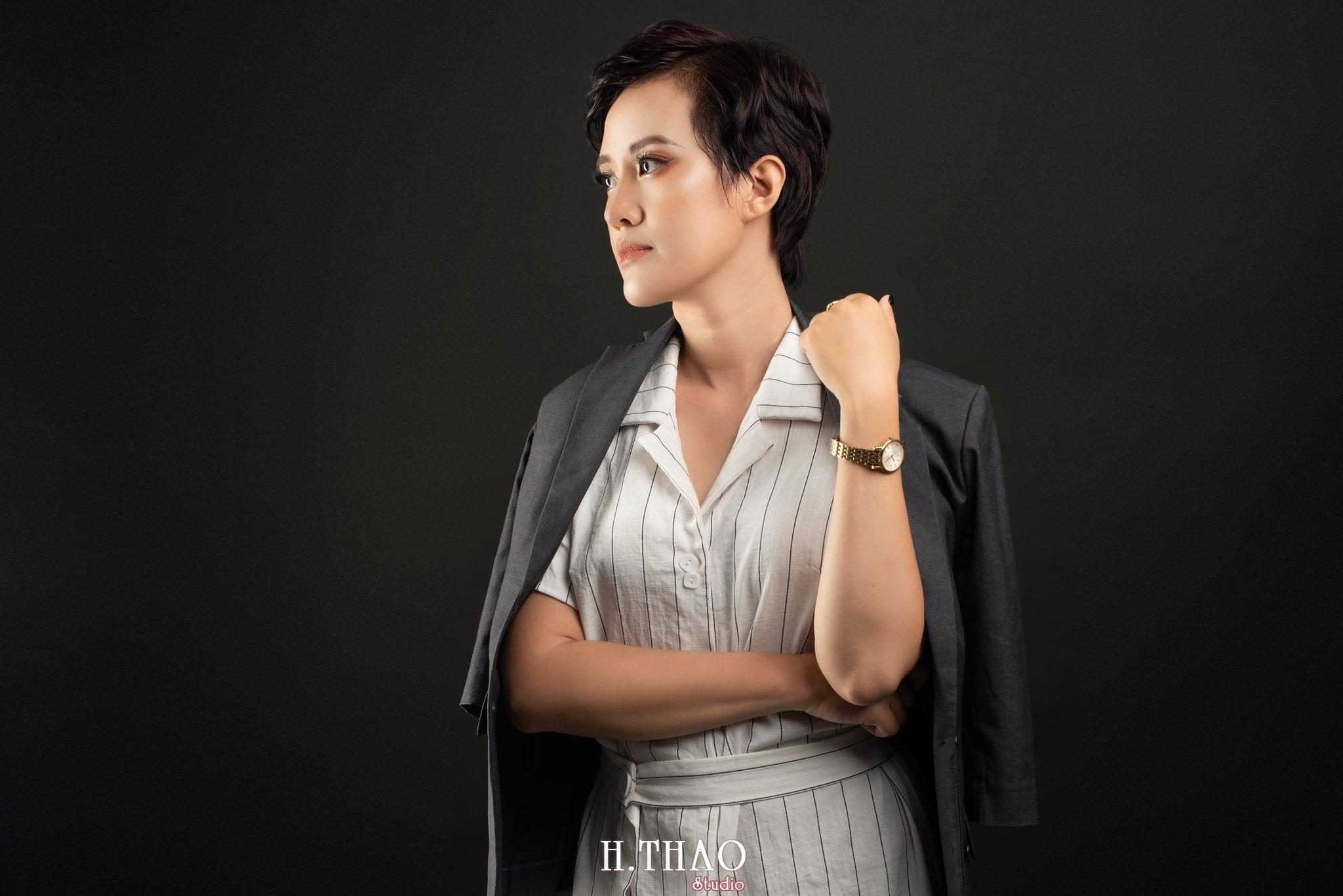 Chi Kim Chi 12 min - Album nữ doanh nhân cá tính Kim Chi nét đẹp lai tây - HThao Studio