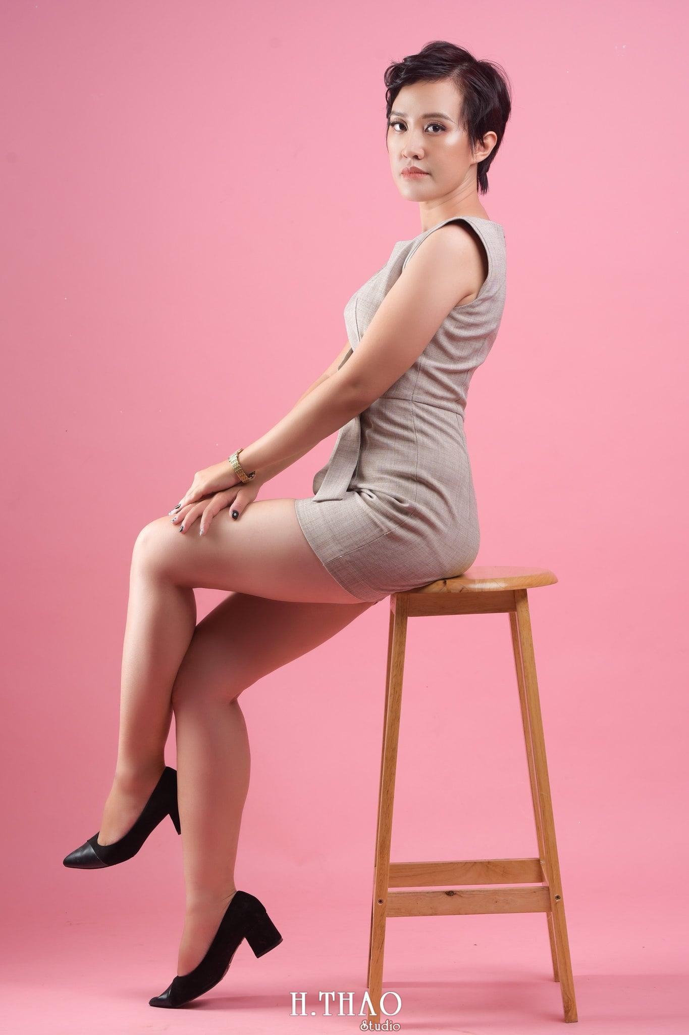 Chi Kim Chi 15 min - Album nữ doanh nhân cá tính Kim Chi nét đẹp lai tây - HThao Studio