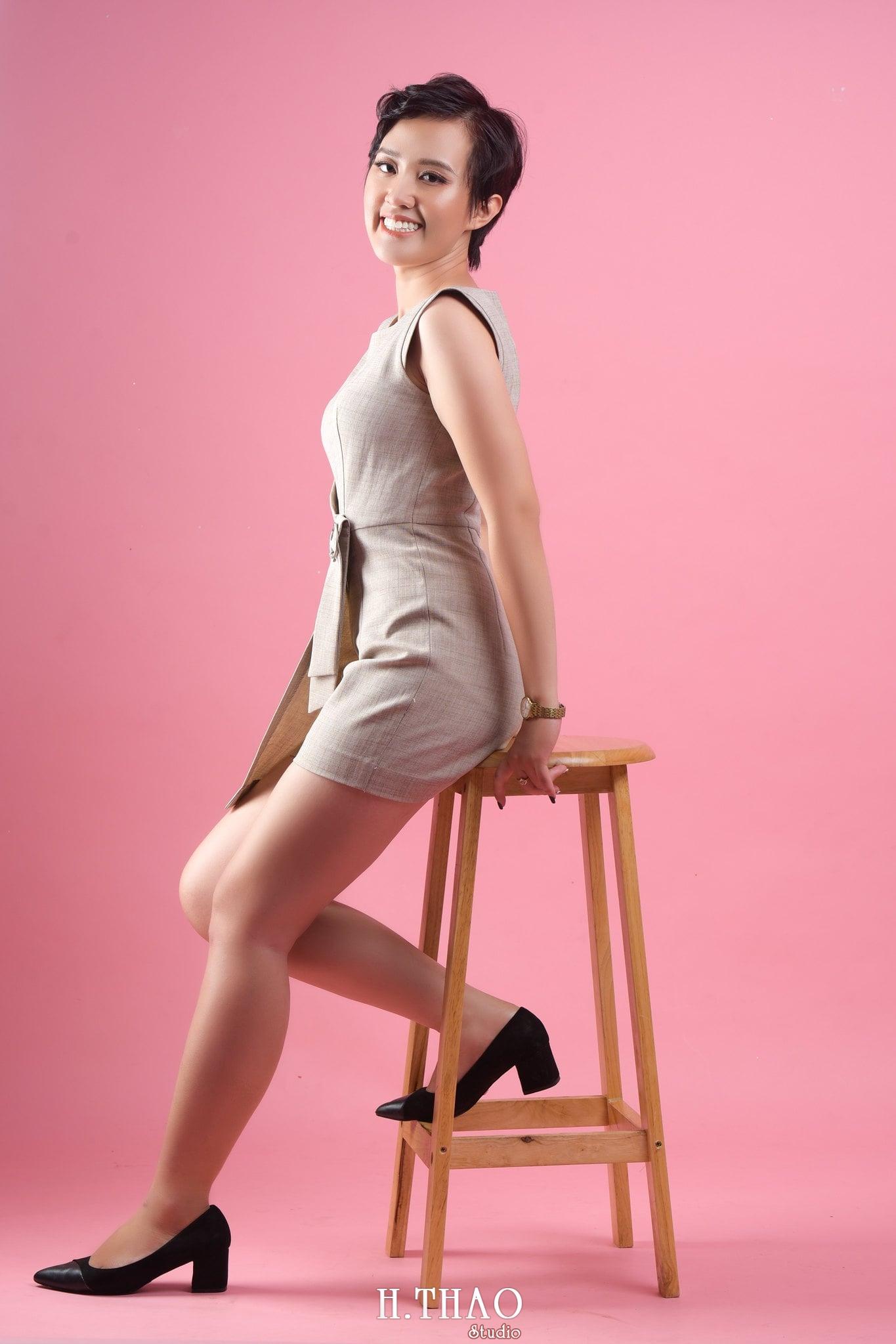 Chi Kim Chi 16 min - Album nữ doanh nhân cá tính Kim Chi nét đẹp lai tây - HThao Studio