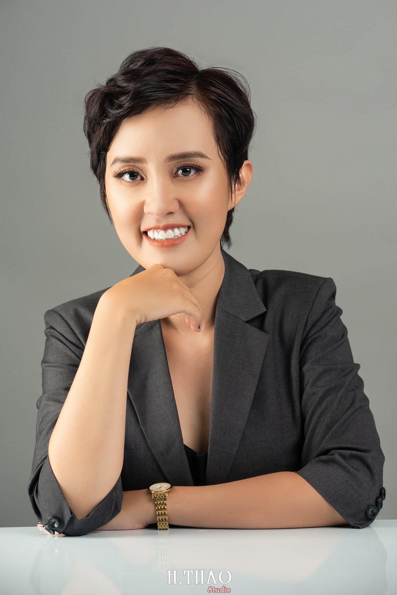 Chi Kim Chi 7 min - Album nữ doanh nhân cá tính Kim Chi nét đẹp lai tây - HThao Studio