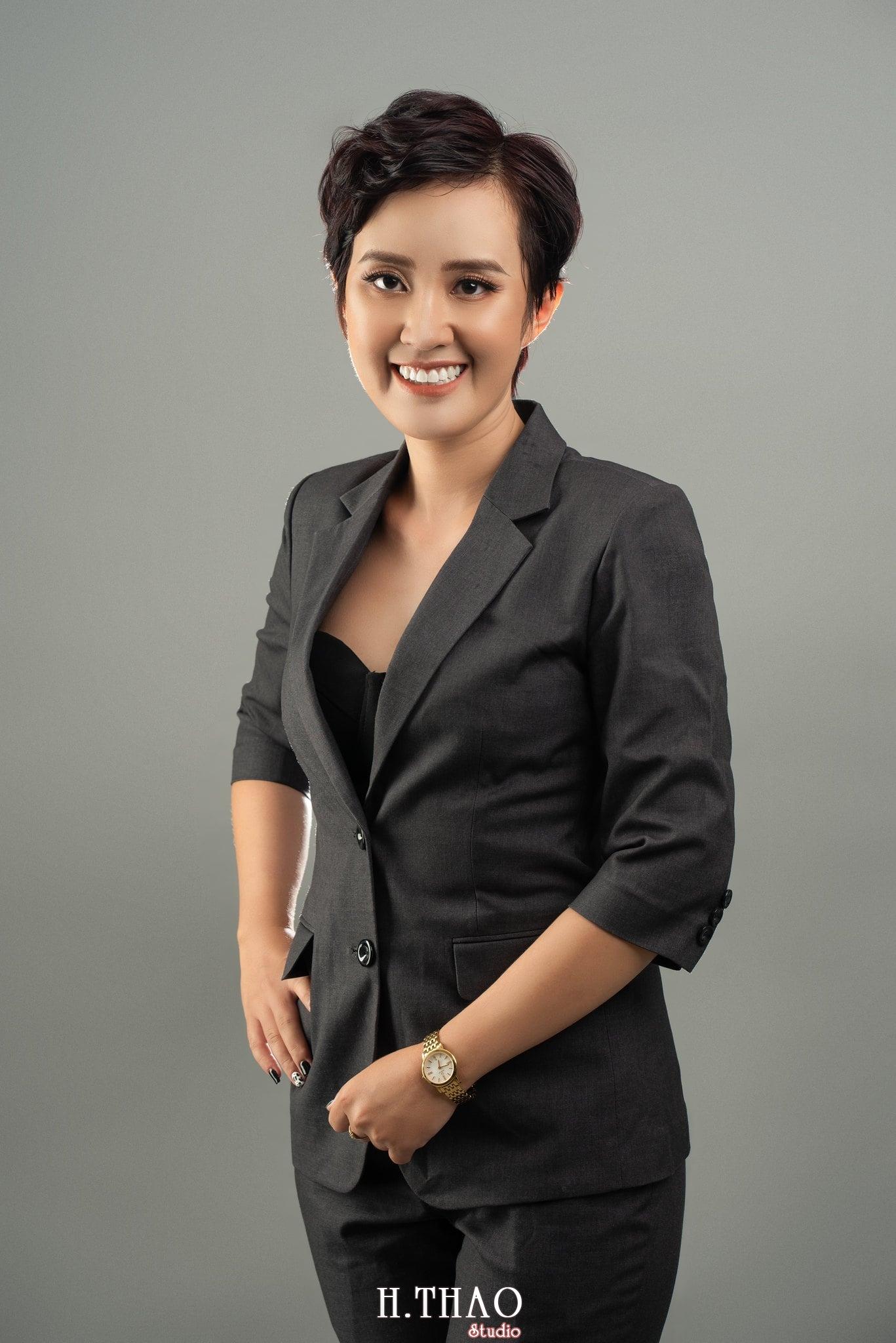 Chi Kim Chi 8 min - Album nữ doanh nhân cá tính Kim Chi nét đẹp lai tây - HThao Studio