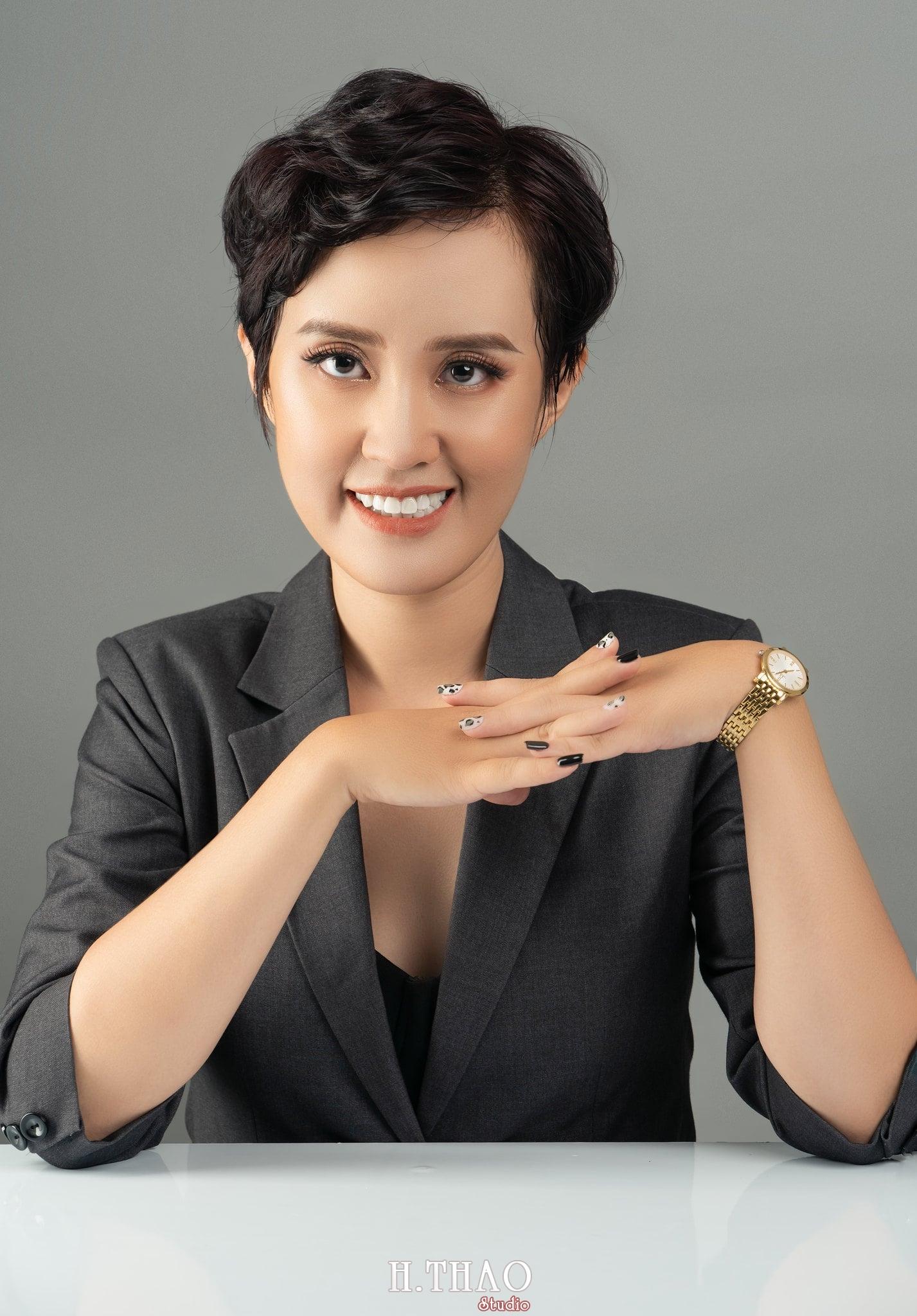 Chi Kim Chi 9 min - Album nữ doanh nhân cá tính Kim Chi nét đẹp lai tây - HThao Studio