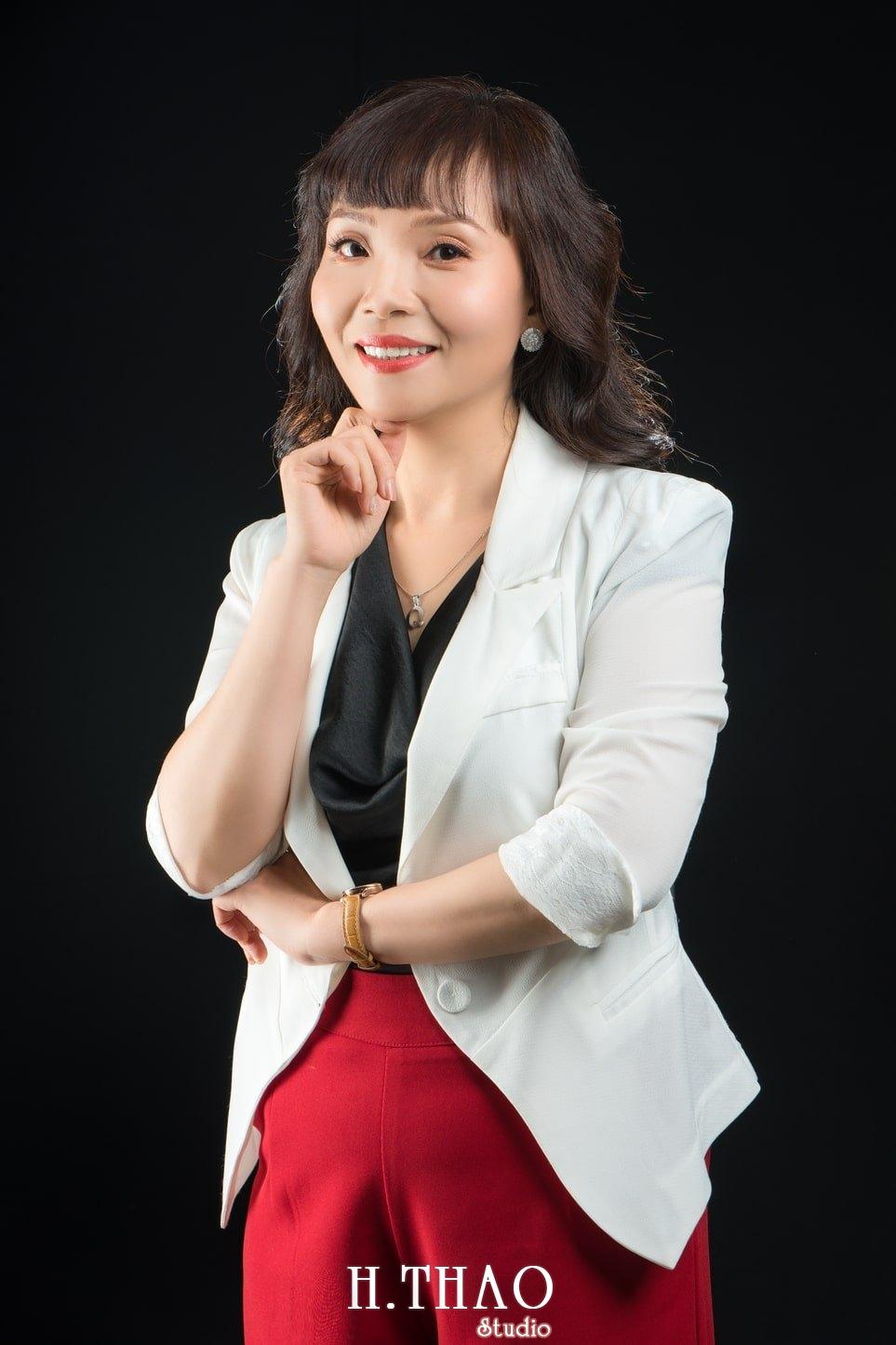 Chi Quynh 3 - Bộ ảnh Doanh nhân, Tiến sĩ V.T.B Quỳnh đẹp, sang trọng - HThao Studio