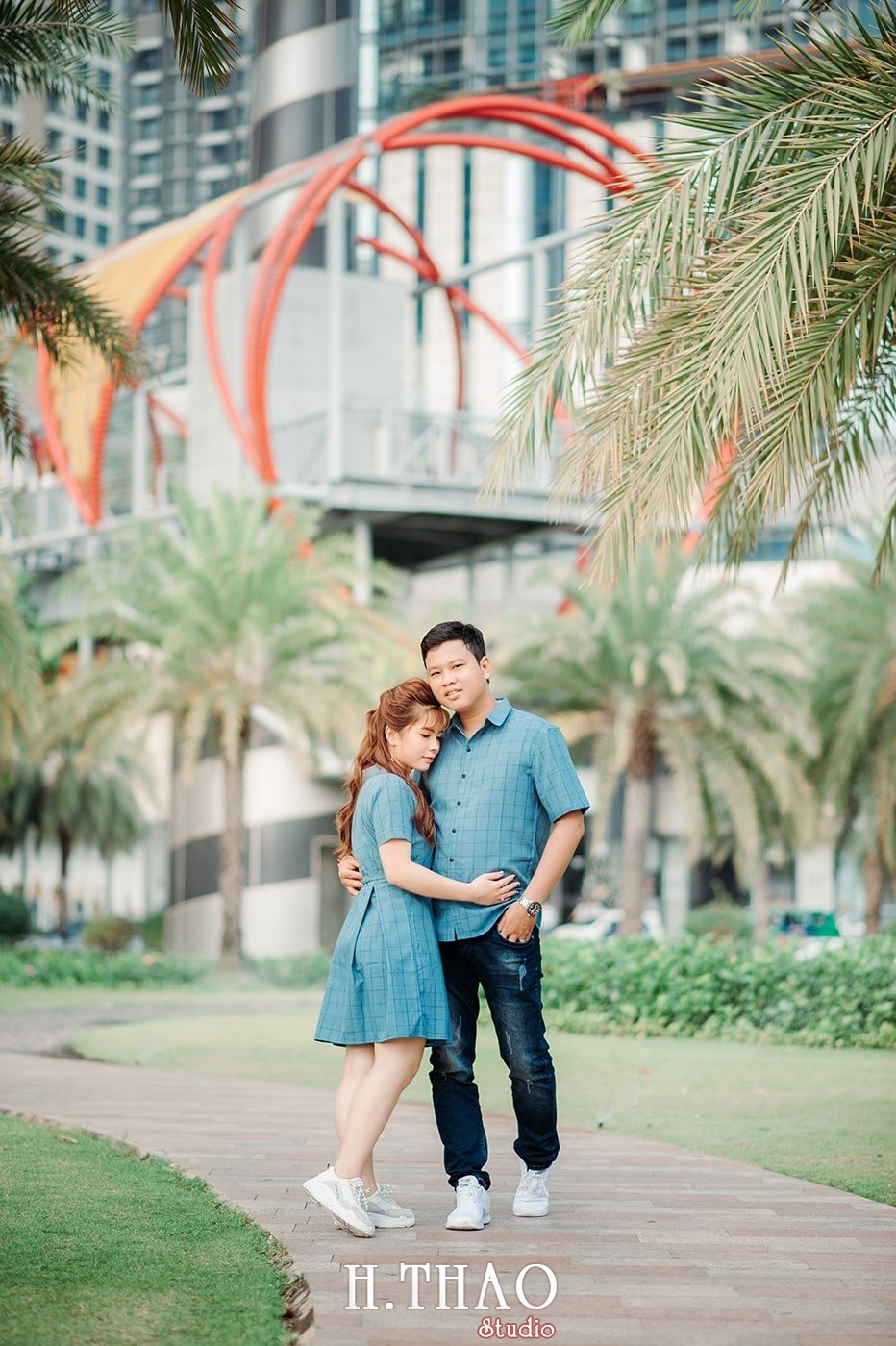 Couple 18 - Top #10 địa điểm chụp hình ngoại cảnh đẹp nhất Tp.HCM - HThao Studio