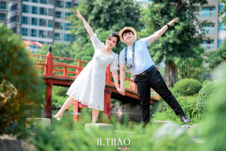 Couple Hai Hang 14 - Album ảnh couple đôi bạn trẻ chụp tại công viên VinHome - HThao Studio