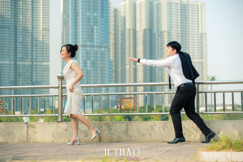 Couple Hai Hang 16 - Album ảnh couple đôi bạn trẻ chụp tại công viên VinHome - HThao Studio
