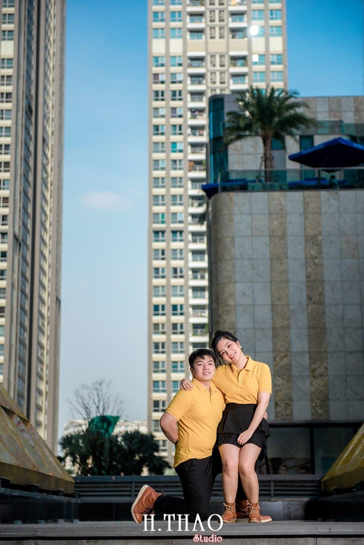 Couple Hai Hang 24 - Album ảnh couple đôi bạn trẻ chụp tại công viên VinHome - HThao Studio