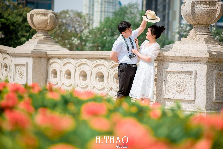 Couple Hai Hang 5 - Album ảnh couple đôi bạn trẻ chụp tại công viên VinHome - HThao Studio