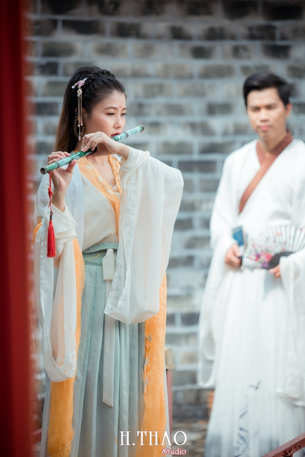 Couple co trang 10 - Album ảnh chụp cổ trang couple đôi bạn đẹp độc lạ - HThao Studio