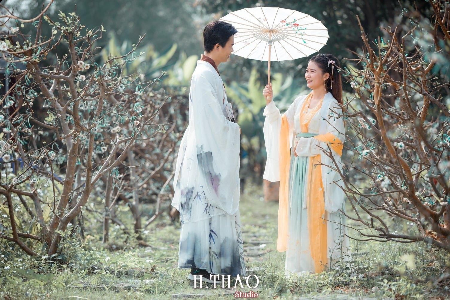 Couple co trang 2 - Album ảnh chụp cổ trang couple đôi bạn đẹp độc lạ - HThao Studio