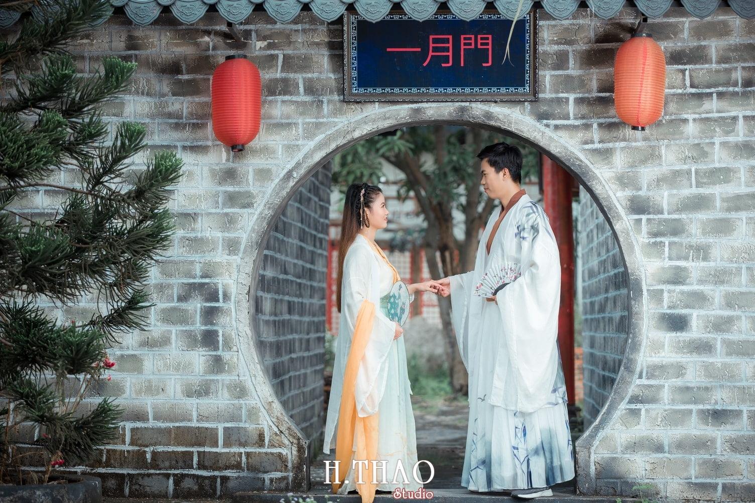 Couple co trang 3 - Album ảnh chụp cổ trang couple đôi bạn đẹp độc lạ - HThao Studio