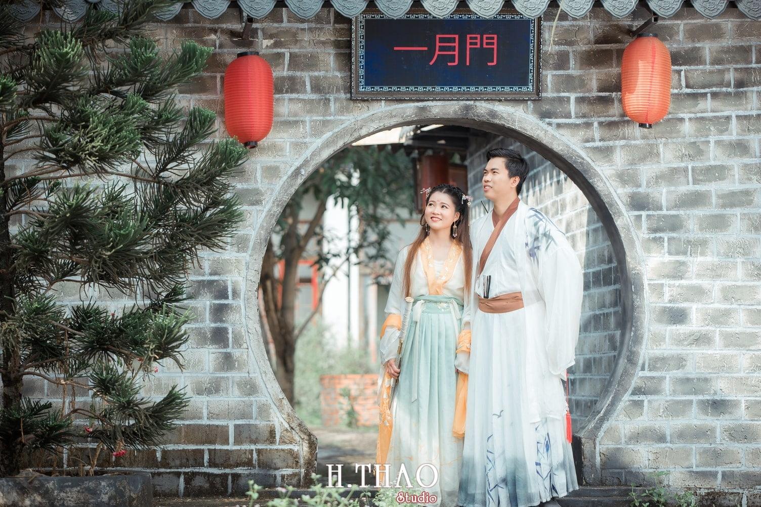 Couple co trang 4 - Album ảnh chụp cổ trang couple đôi bạn đẹp độc lạ - HThao Studio