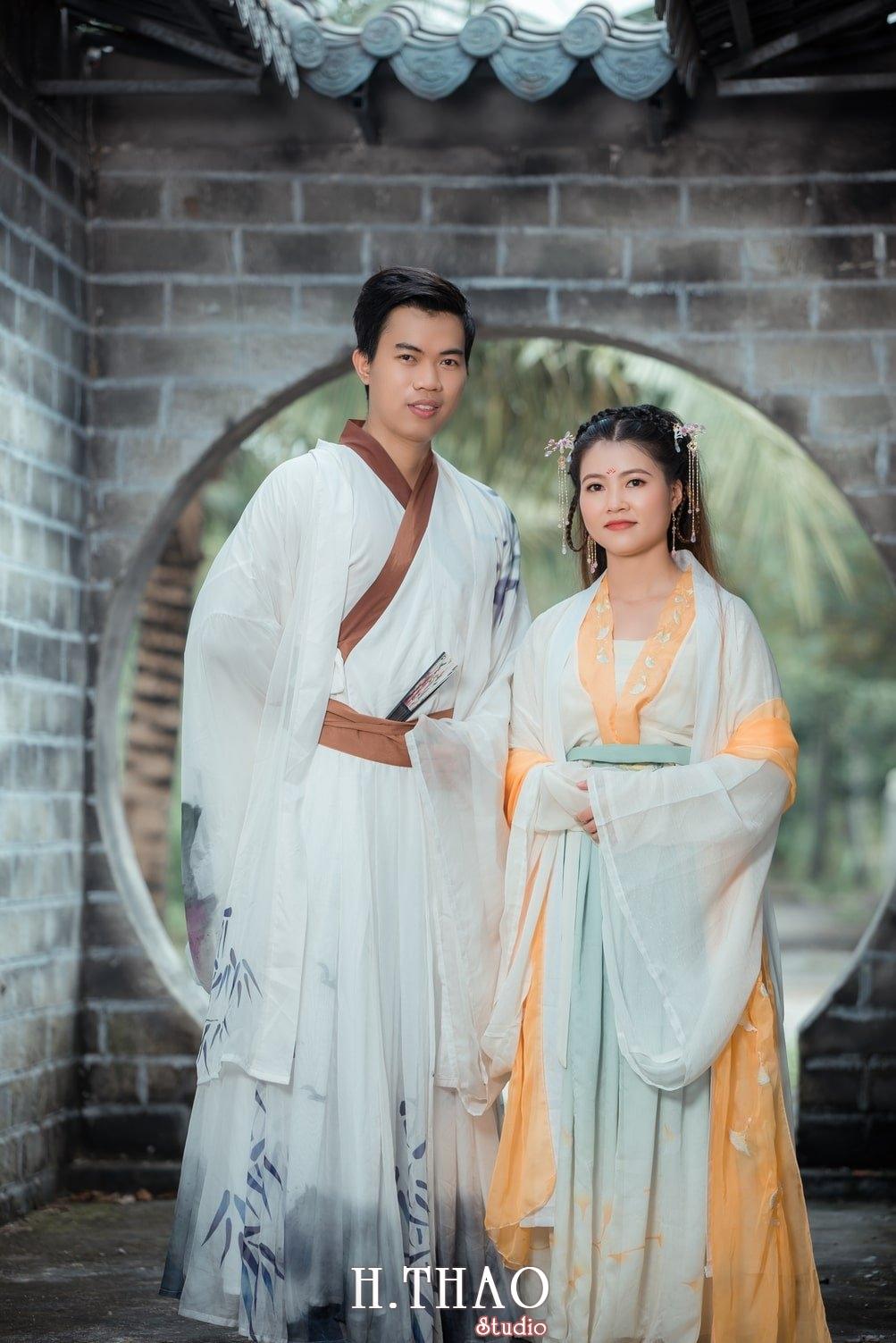 Couple co trang 7 - Album ảnh chụp cổ trang couple đôi bạn đẹp độc lạ - HThao Studio
