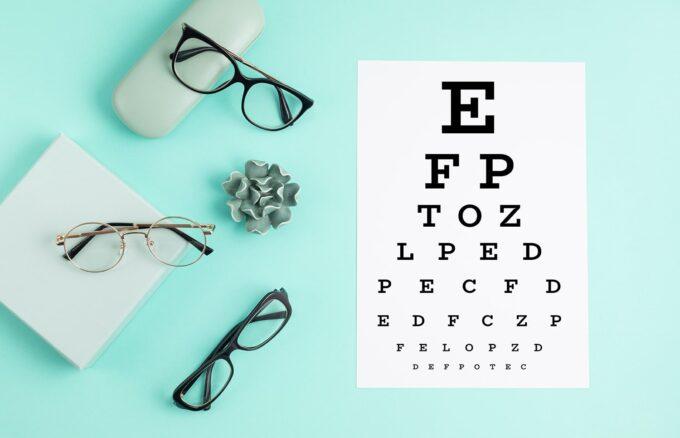 chụp ảnh kính mắt