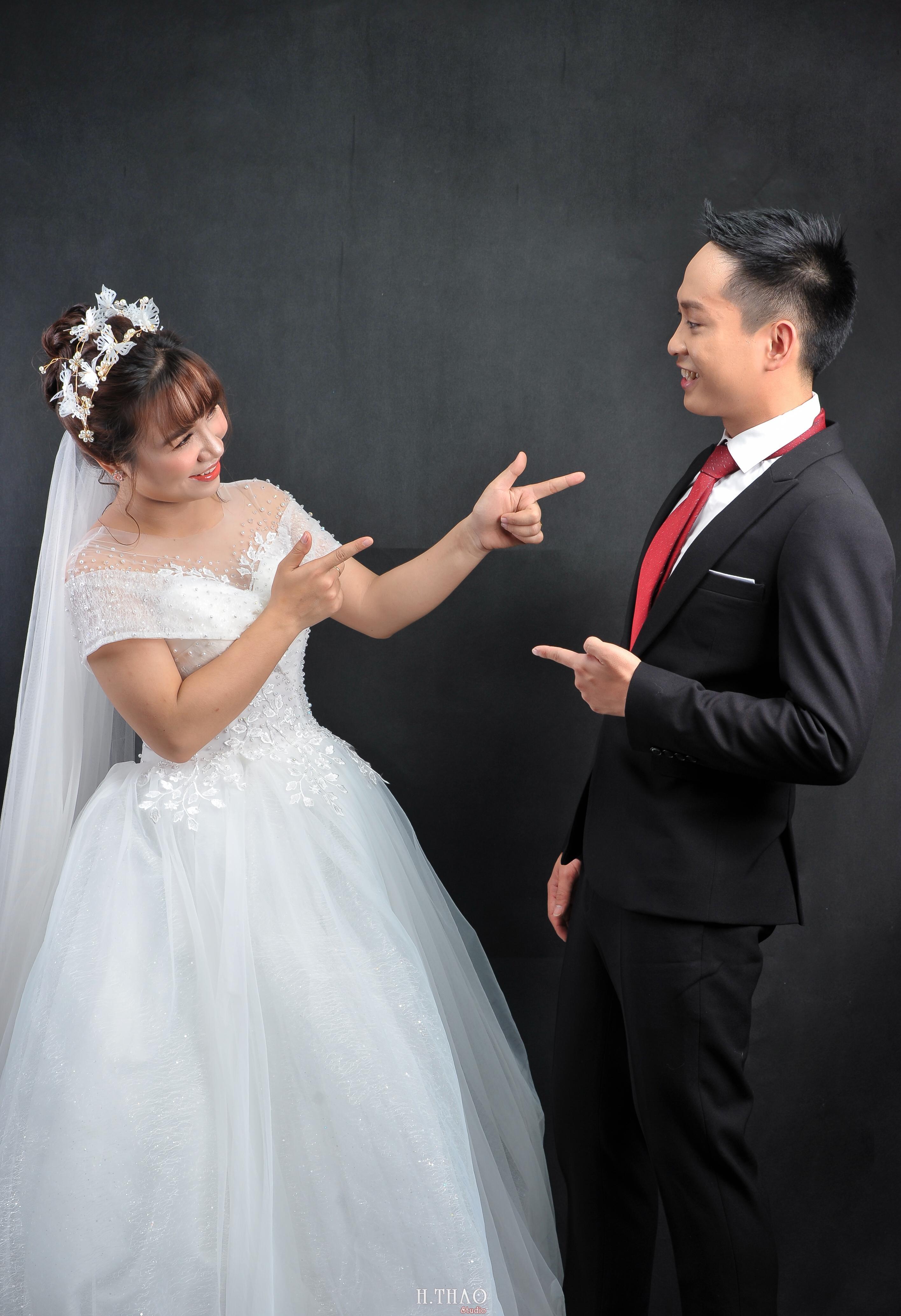 chụp ảnh cưới trong studio
