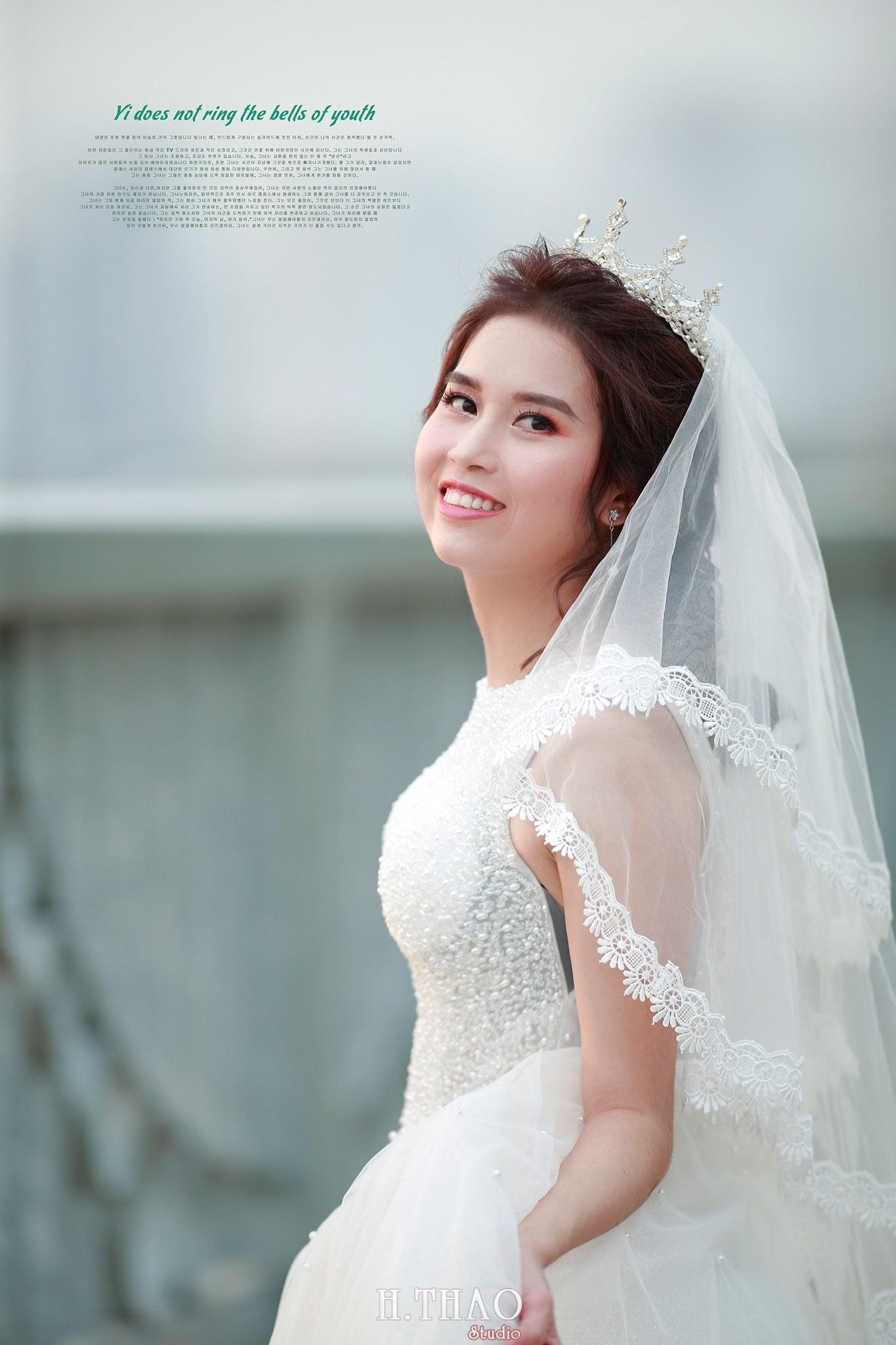 Anh cuoi 1 - Bộ ảnh cưới cô dâu đơn tuyệt đẹp tại phim trường paris- HThao Studio