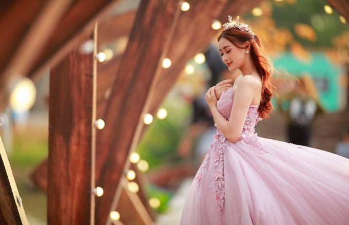 Anh cuoi 25 680x438 - Bộ ảnh cưới cô dâu đơn tuyệt đẹp tại phim trường paris- HThao Studio